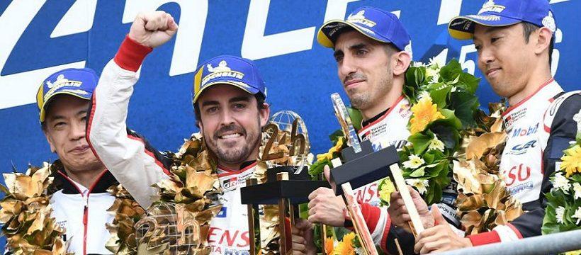 Alonso gana le mans