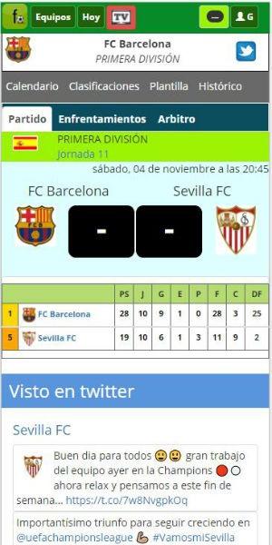 Futbolme app