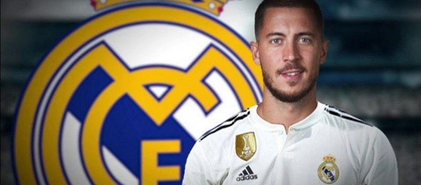 Hazard ficha por el Madrid