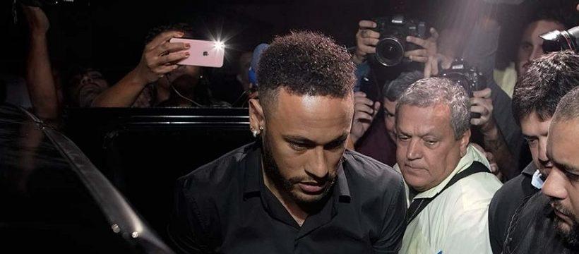 Neymar declara ante la policia