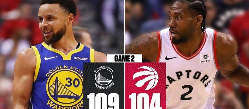 Segundo partido finales NBA