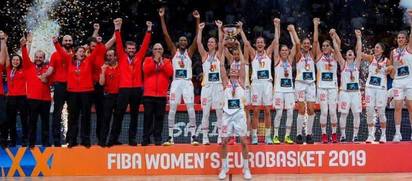 La seleccion femenina de baloncesto gana el Eurobasket