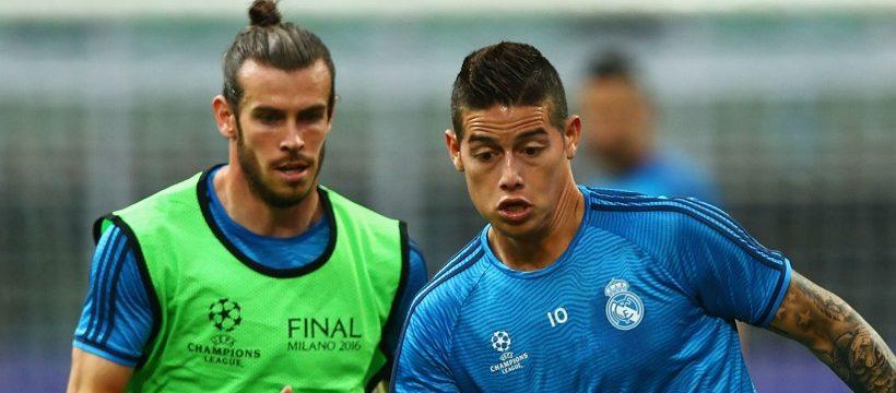 Bale James fuera lista