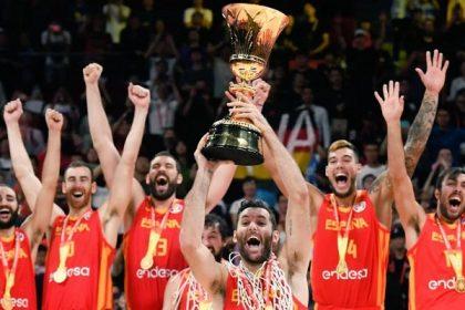 Espana campeona del mundo de baloncesto