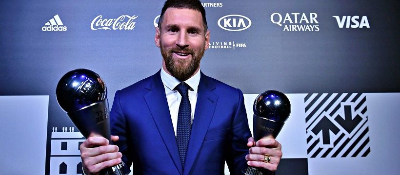 Messi gana The Best 2019
