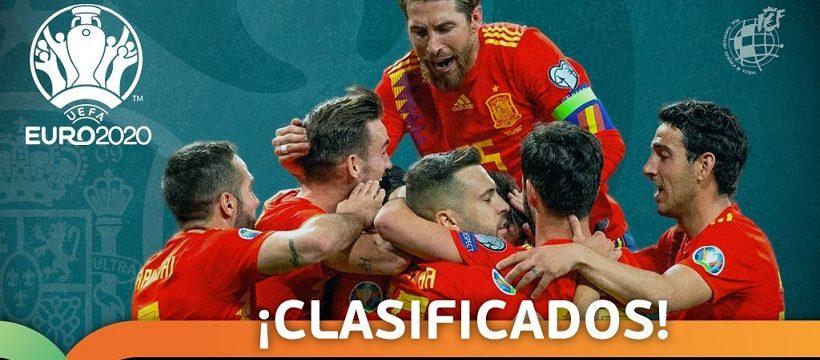 Espana se clasifica para Euro2020