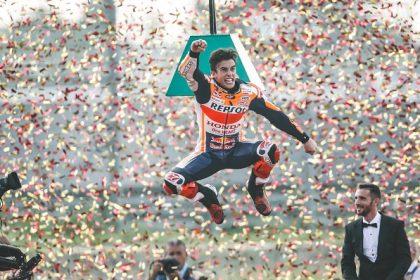 Marquez gana su octavo mundial