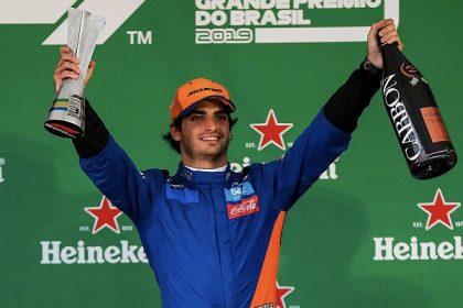 Carlos Sainz Jr Podio