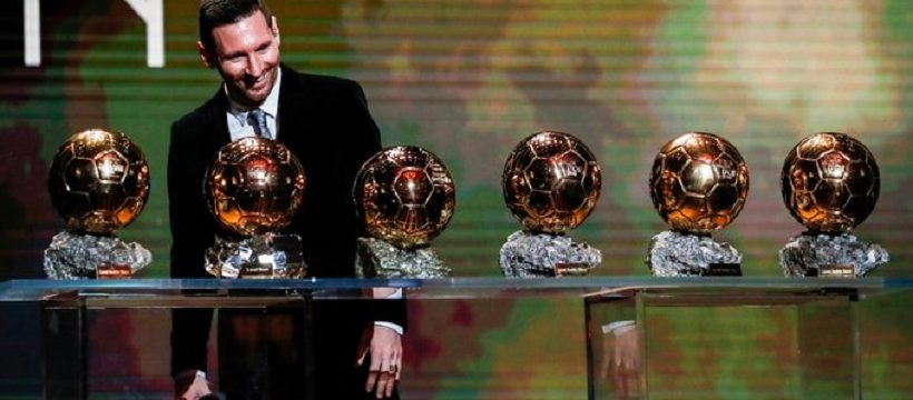 Messi 6 balon de oro