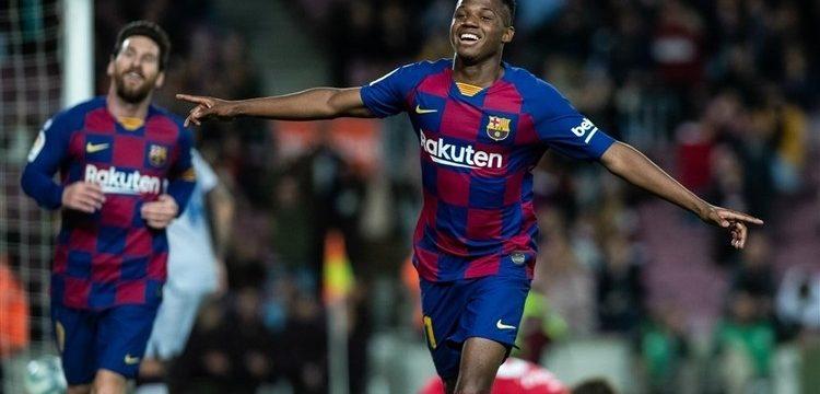 El canterano dio la victoria al Barça con un doblete