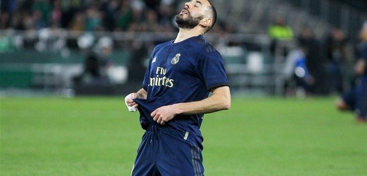 El delantero francés rompió su sequía con un gol de penalti, pero no fue suficiente para que el Madrid se llevase la victoria