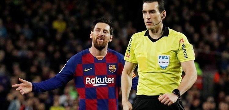El argentino transformó el penalti señalado por el VAR