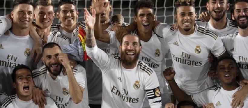 El madrid gana la liga