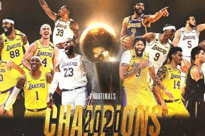 Lakers campeon NBA