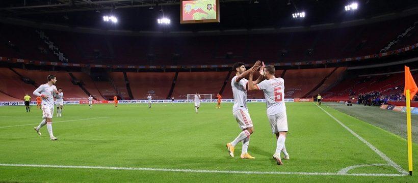 Holanda Espana 1-1