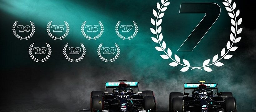 Mercedes campeon F1